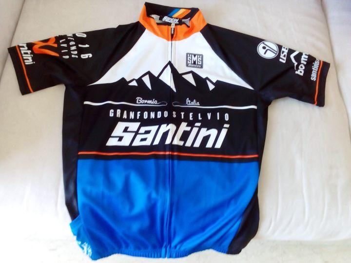 Maglia GF Stelvio Santini 2016
